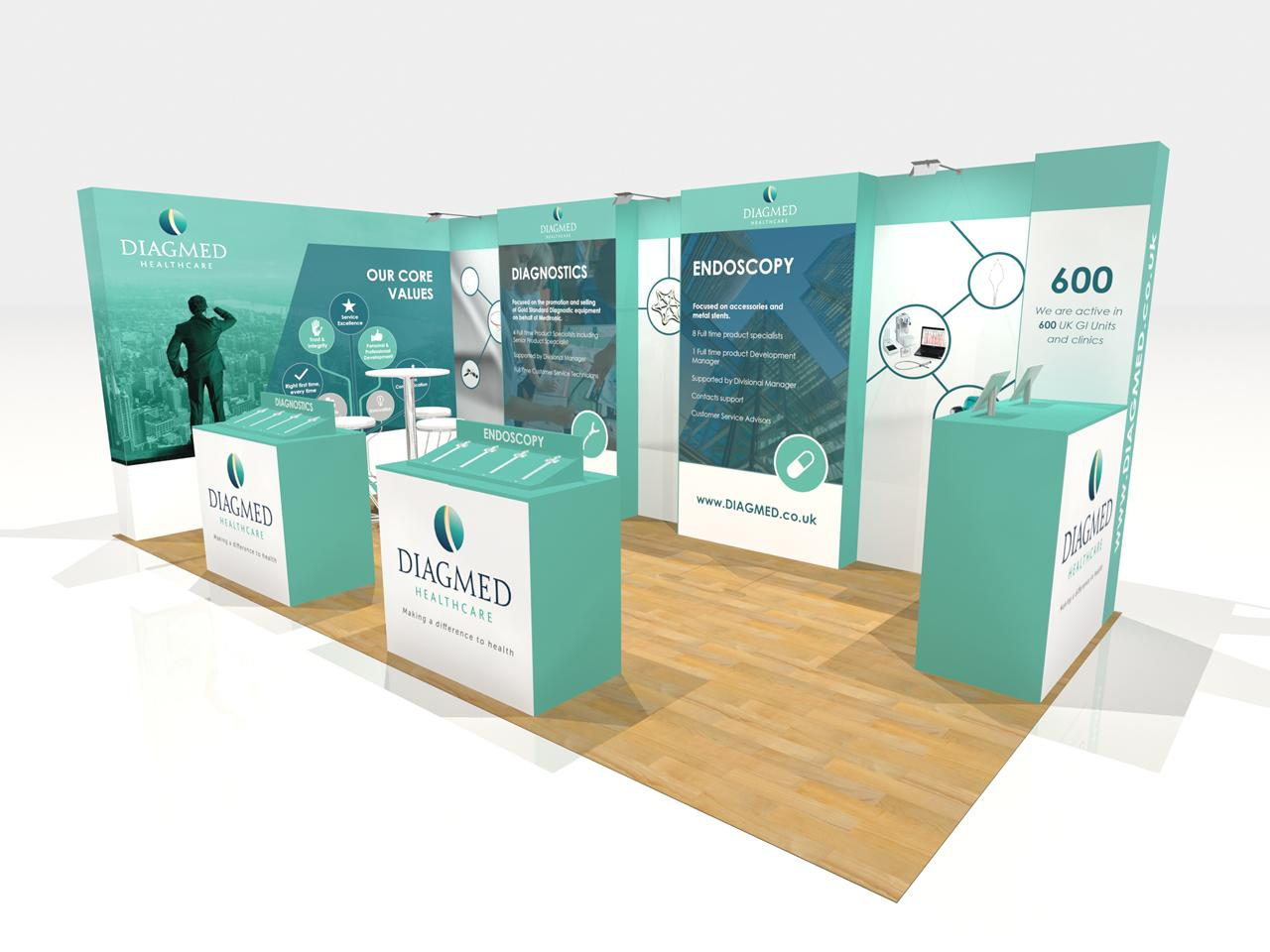 Marketing Exhibition Stand Out : Making sure your exhibition stand stands out from the